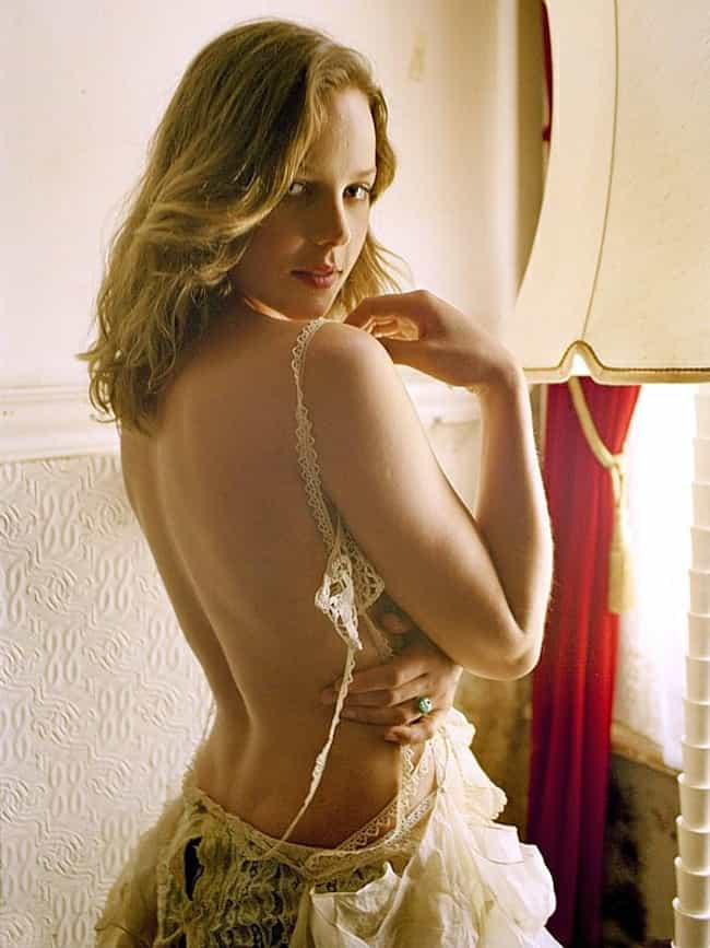 Abbie Cornish in Backless Lace... is listed (or ranked) 3 on the list Hottest Abbie Cornish Photos