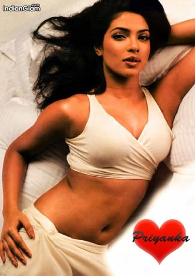 Priyanka Chopra in Wrap Bra wi... is listed (or ranked) 3 on the list The Hottest Priyanka Chopra Photos Ever