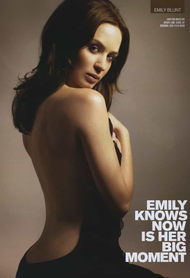 Emily Blunt Wants You to GO AW... is listed (or ranked) 1 on the list The Hottest Emily Blunt Photos
