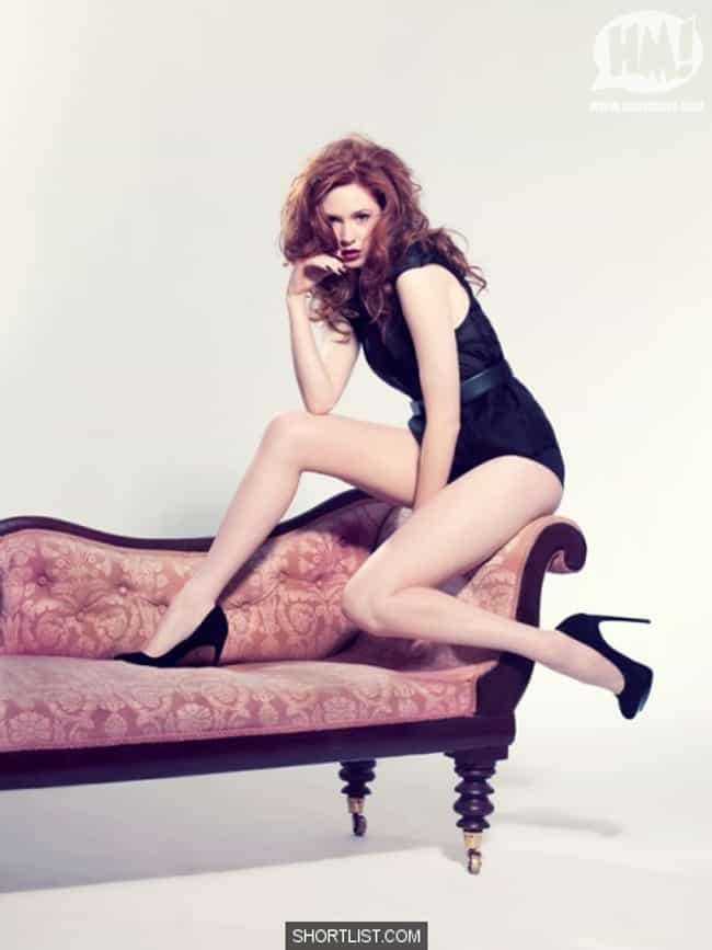 Karen Gillan Doesn't Care ... is listed (or ranked) 3 on the list The Hottest Karen Gillan Photos of All Time