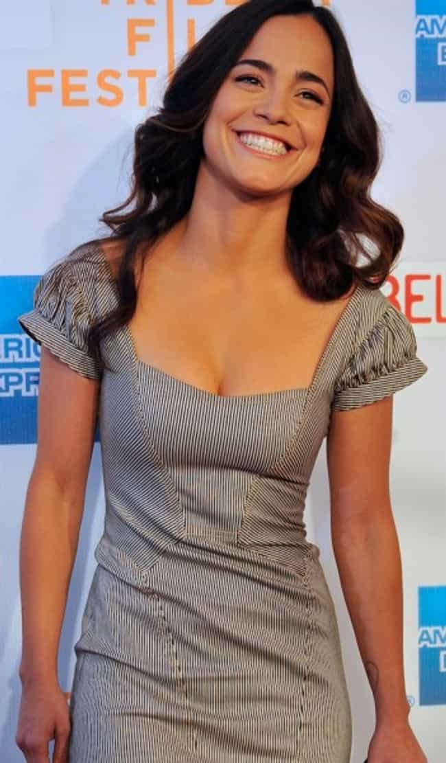 Alice Braga in Stripes Panel M... is listed (or ranked) 4 on the list Hottest Alice Braga Photos