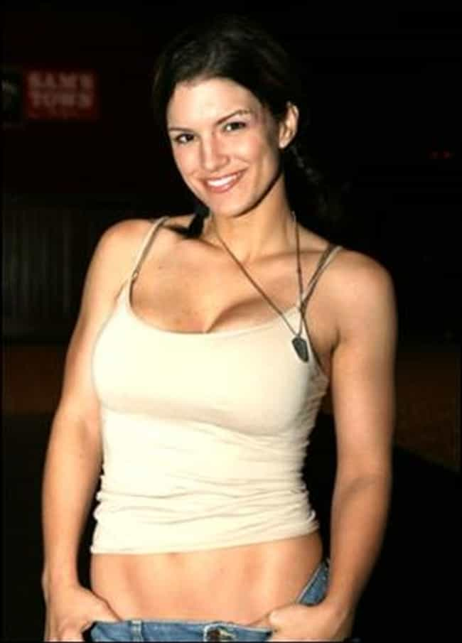 Gina Carano Smiles Before She ... is listed (or ranked) 3 on the list The Hottest Gina Carano Photos