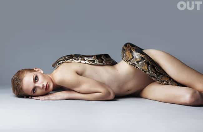 Andrej Pejic in Nude Pose with... is listed (or ranked) 1 on the list Hot Andrej Pejic Photos