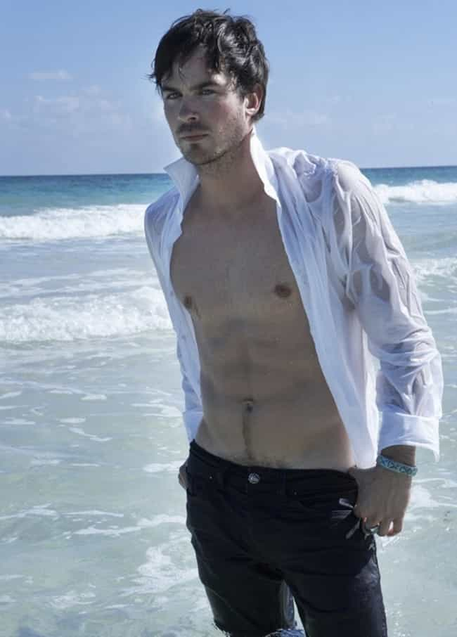 Ian Somerhalder in Wet L... is listed (or ranked) 2 on the list Hot Ian Somerhalder Photos