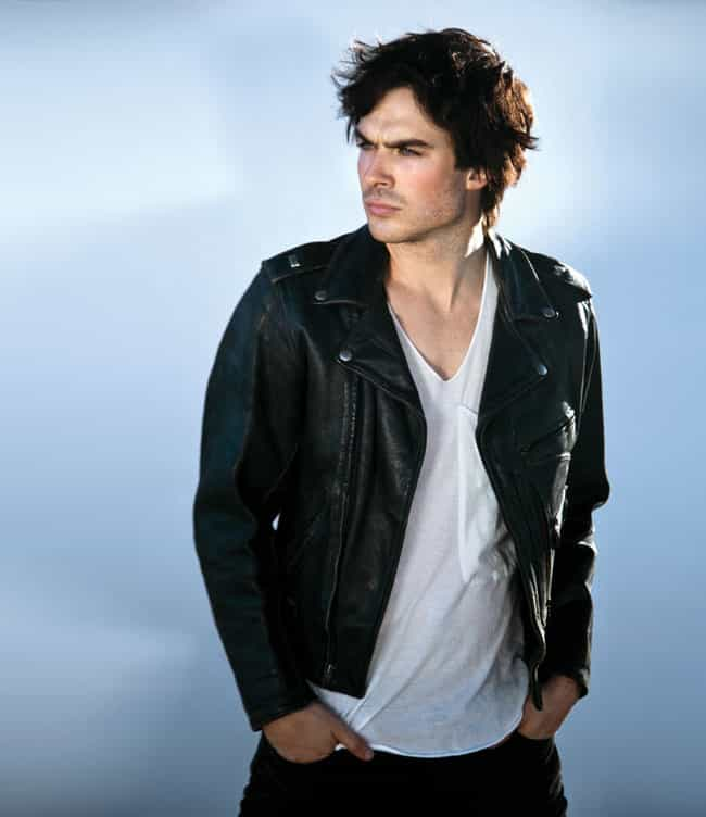 Ian Somerhalder in Leath... is listed (or ranked) 1 on the list Hot Ian Somerhalder Photos
