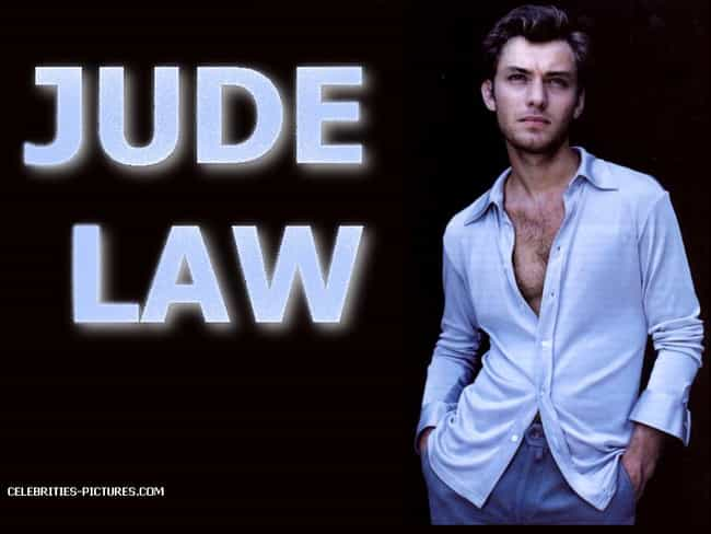 Jude Law in White Silk Long Sl... is listed (or ranked) 3 on the list Hot Jude Law Photos