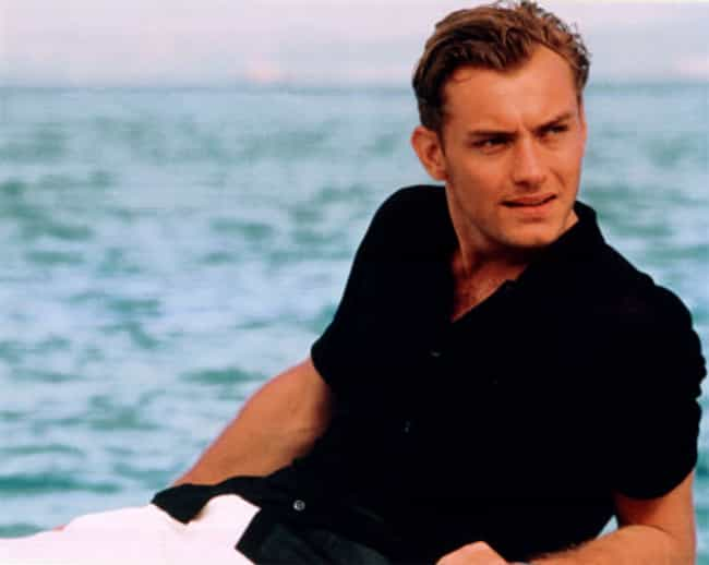 Jude Law in Black Polo with Wh... is listed (or ranked) 4 on the list Hot Jude Law Photos