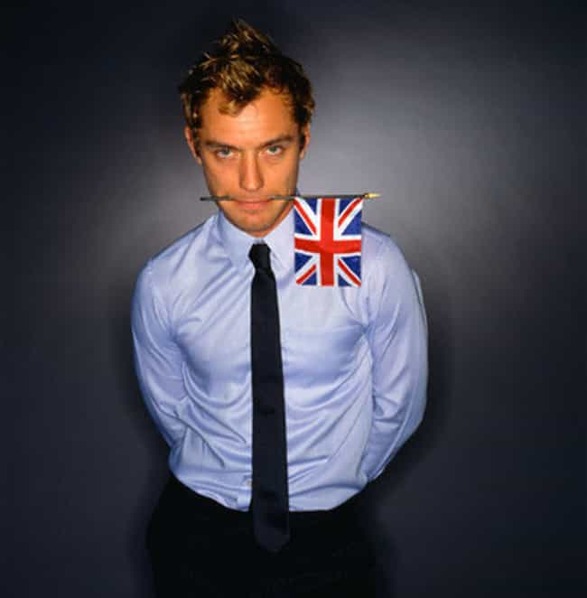 Jude Law in Navy Long Sleeve w... is listed (or ranked) 1 on the list Hot Jude Law Photos