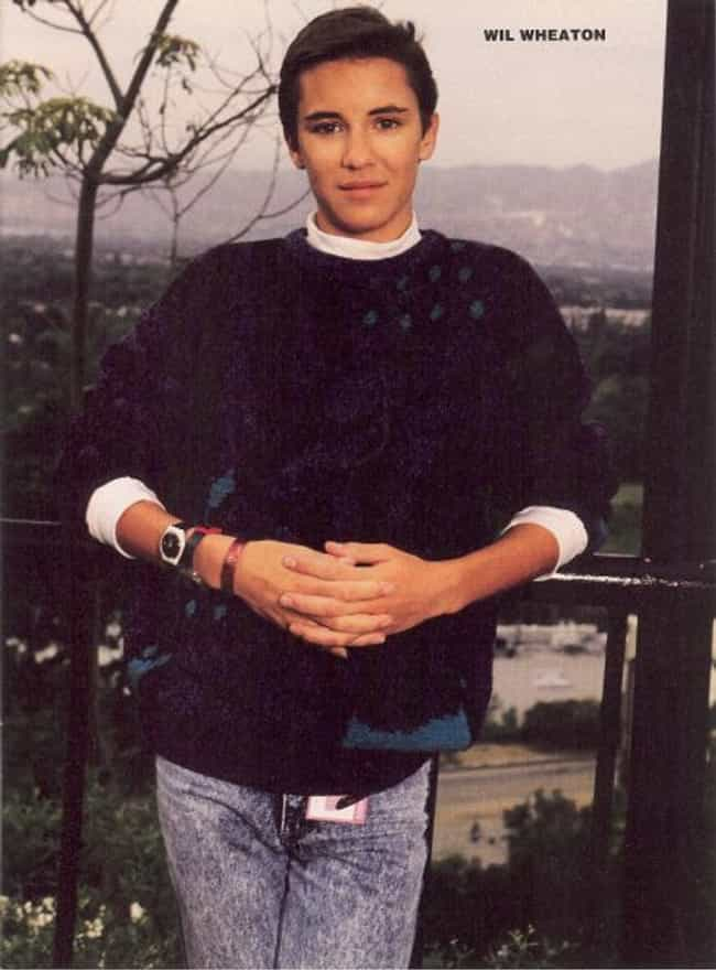 Wil Wheaton in Fair Isle Knit ... is listed (or ranked) 3 on the list Hot Wil Wheaton Photos