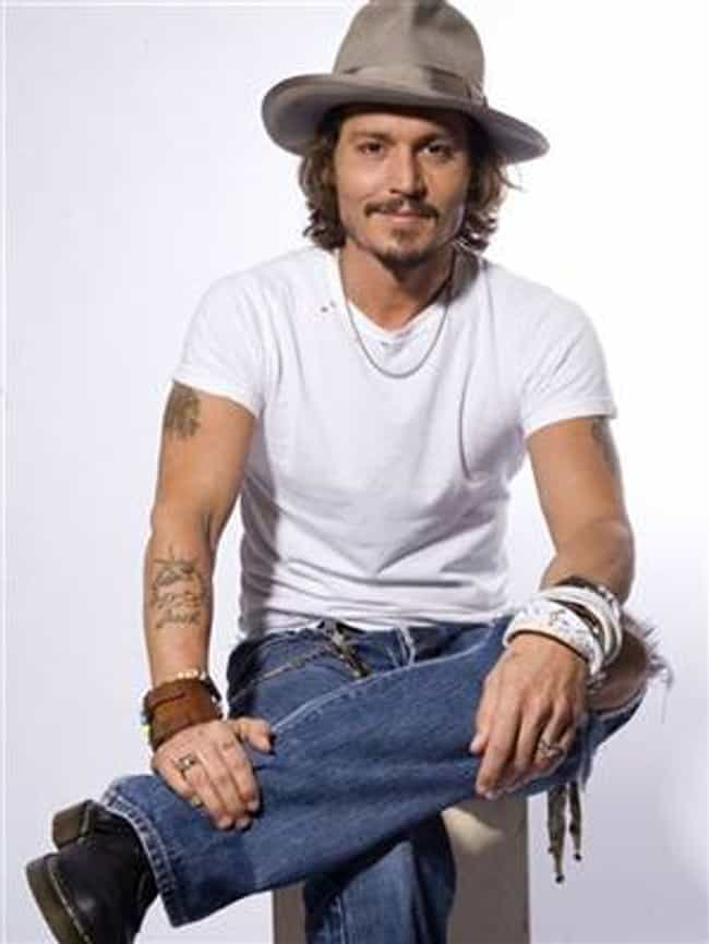 Johnny Depp in White T-Shirt w... is listed (or ranked) 3 on the list Hot Johnny Depp Photos