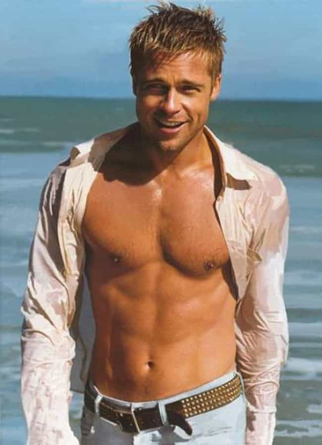 Brad Pitt Emerges From T... is listed (or ranked) 1 on the list The Hottest Brad Pitt Photos