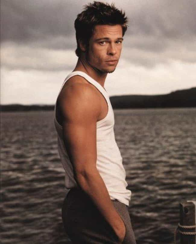 Brad Pitt Has A Butt You... is listed (or ranked) 2 on the list The Hottest Brad Pitt Photos