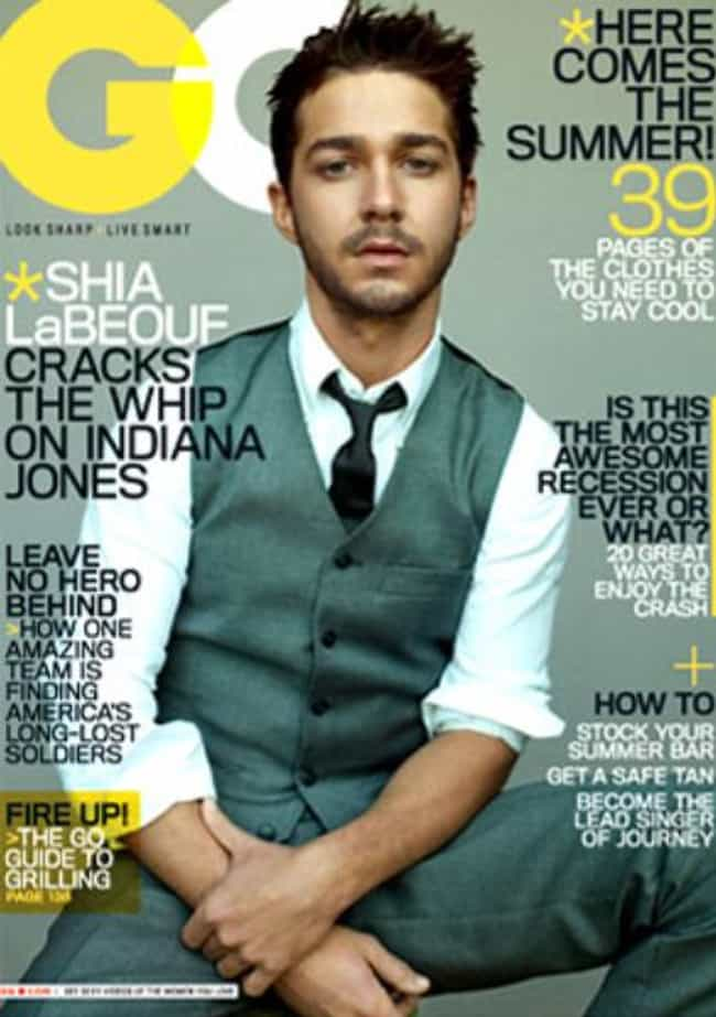 Shia Labeouf in Grey Combo Wai... is listed (or ranked) 2 on the list Hot Shia Labeouf Photos