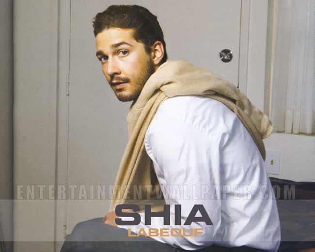 Shia Labeouf in White Long Sle... is listed (or ranked) 1 on the list Hot Shia Labeouf Photos