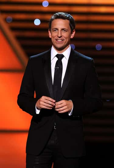 Seth Meyers in Petite Exclusive Tuxedo