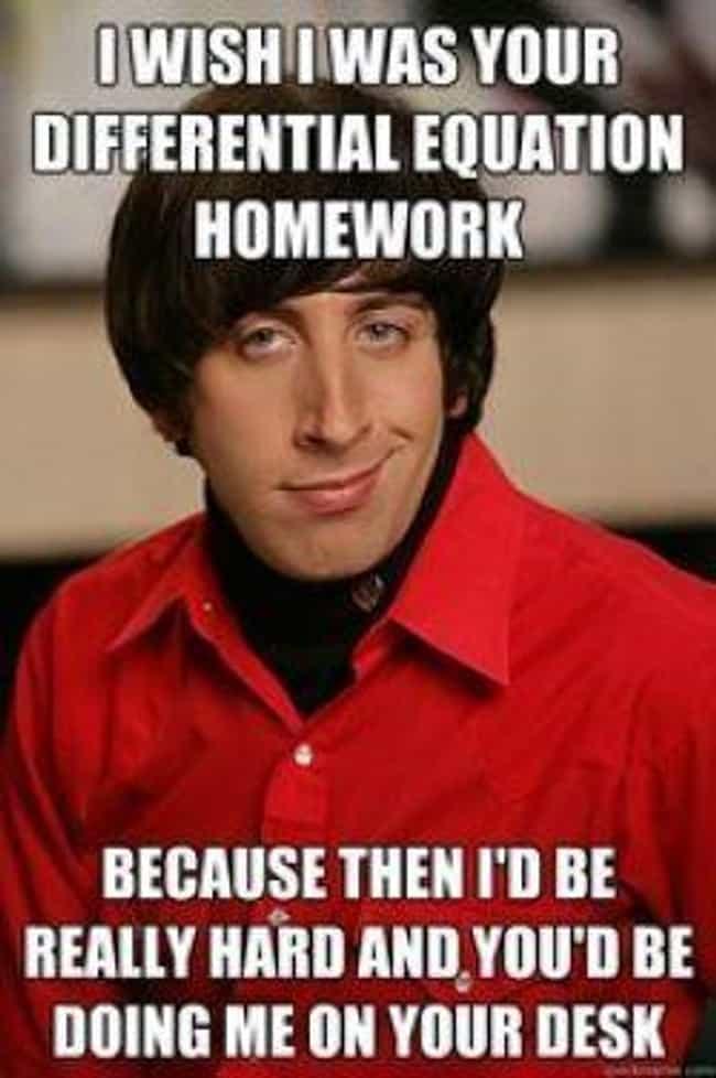 Howard Wolowitz Meme | List of the Pickup Line Scientist Meme