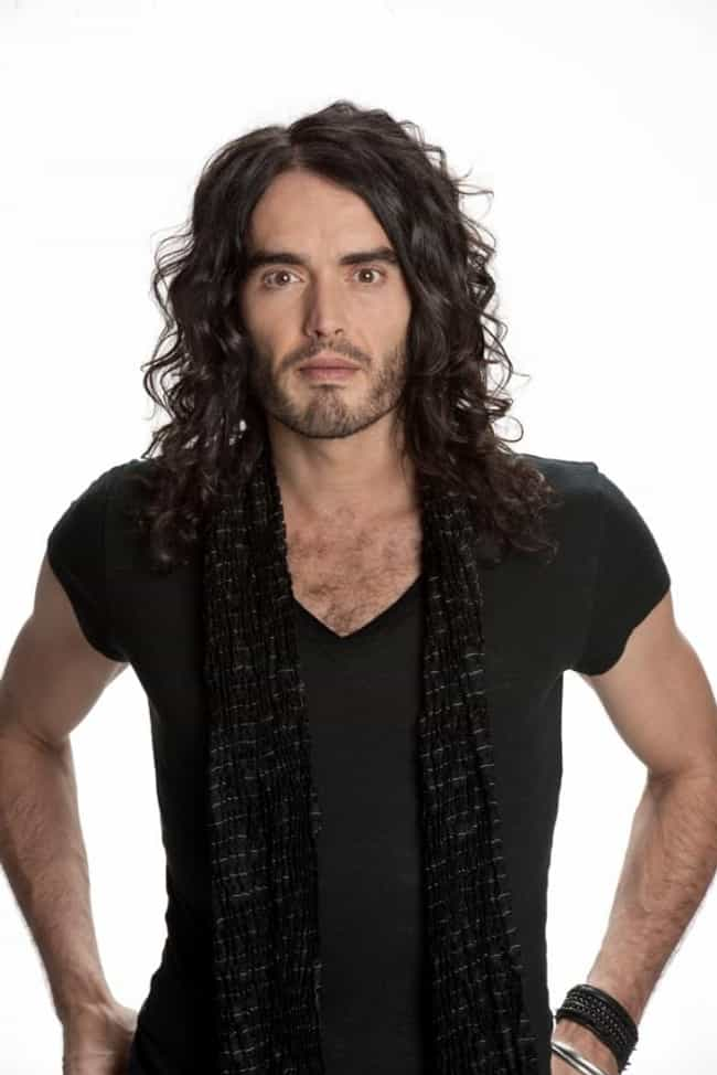 Russell Brand in V-Neck ... is listed (or ranked) 2 on the list Hot Russell Brand Photos