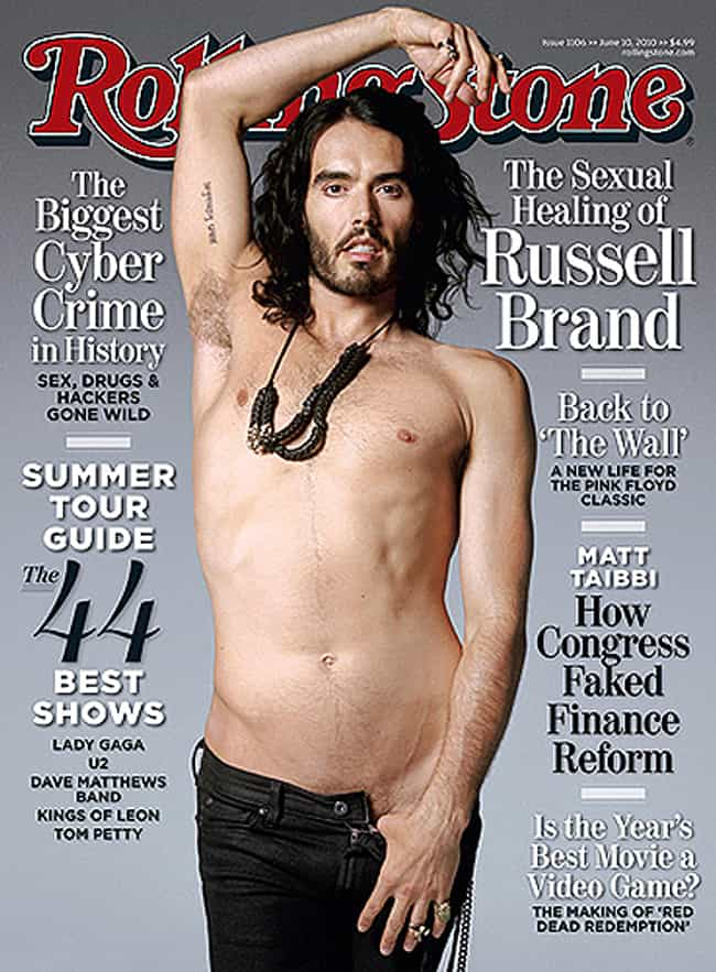 Russell Brand in Low Wai... is listed (or ranked) 3 on the list Hot Russell Brand Photos