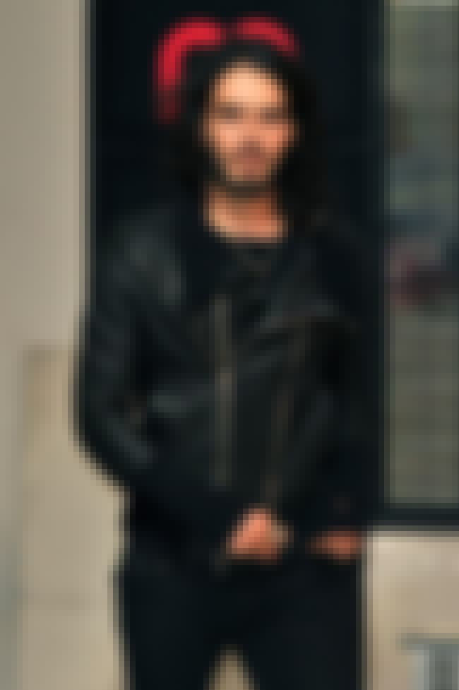 Russell Brand in Leather Zip t... is listed (or ranked) 1 on the list Hot Russell Brand Photos