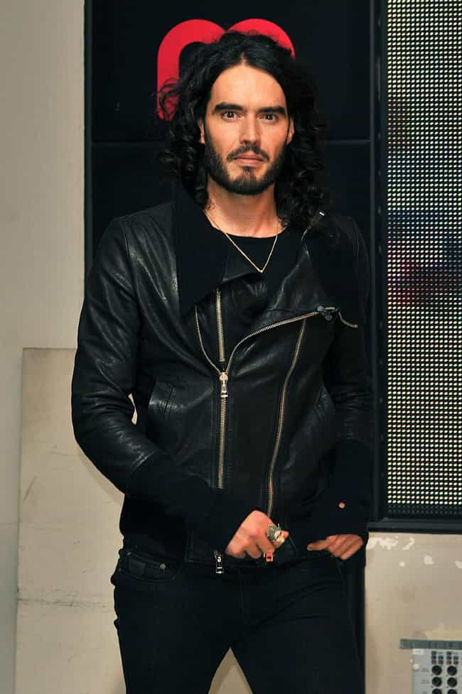 Russell Brand in Leather... is listed (or ranked) 4 on the list Hot Russell Brand Photos