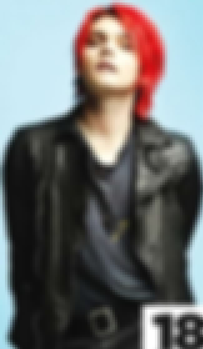 Gerard Way in Leather Track Ja... is listed (or ranked) 3 on the list Hot Gerard Way Photos