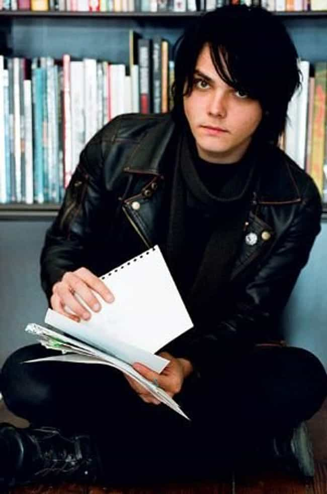 Gerard Way in Windcheater Leat... is listed (or ranked) 1 on the list Hot Gerard Way Photos