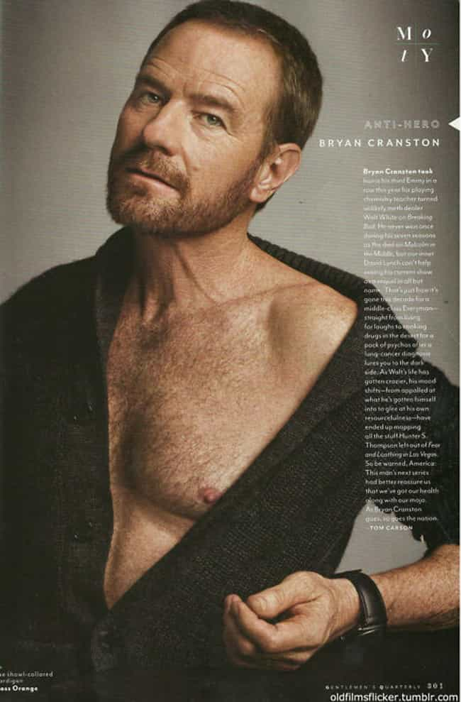 Bryan Cranston in Knitted Jump... is listed (or ranked) 1 on the list Hot Bryan Cranston Photos