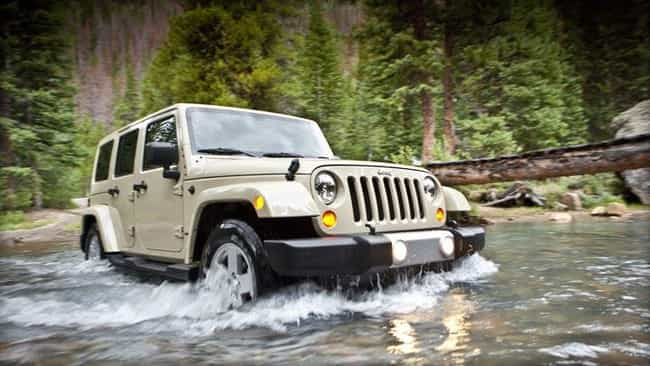 Jeep Wrangler Unlimited ... is listed (or ranked) 1 on the list The Best Recreational Cars and SUVs
