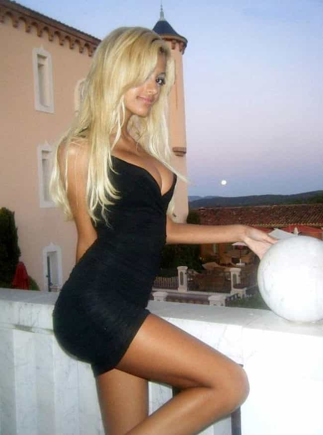 Zahia Dehar in Deep V Front Ni... is listed (or ranked) 3 on the list The Sexiest Zahia Dehar Pics of All Time