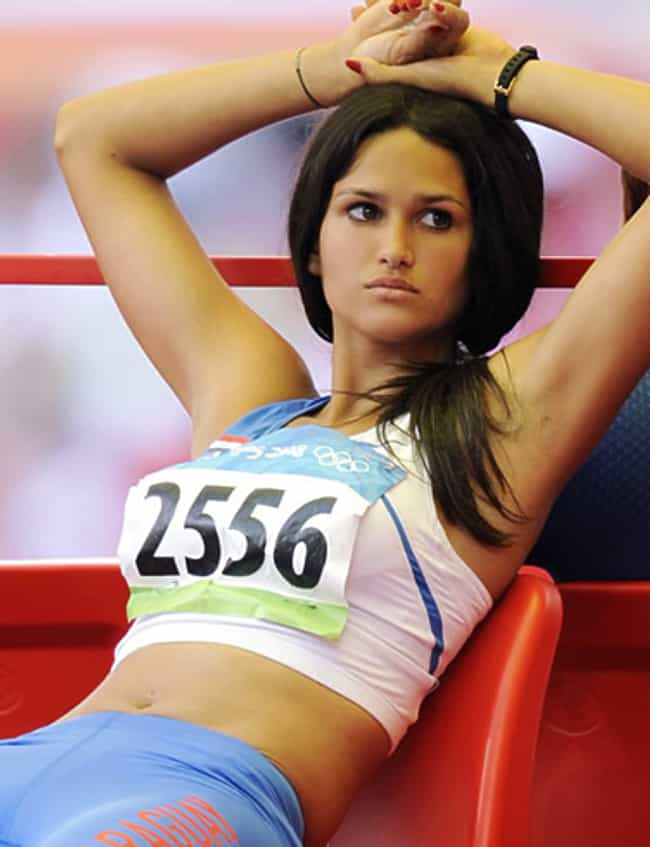 Track & Field is listed (or ranked) 2 on the list Female Sports with the Hottest Athletes