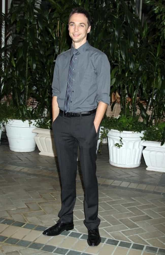 Jim Parsons in Grey Form... is listed (or ranked) 7 on the list Hot Jim Parsons Photos