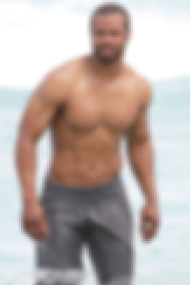 Isaiah Mustafa in Grey Swim Sh... is listed (or ranked) 1 on the list Hot Isaiah Mustafa Photos