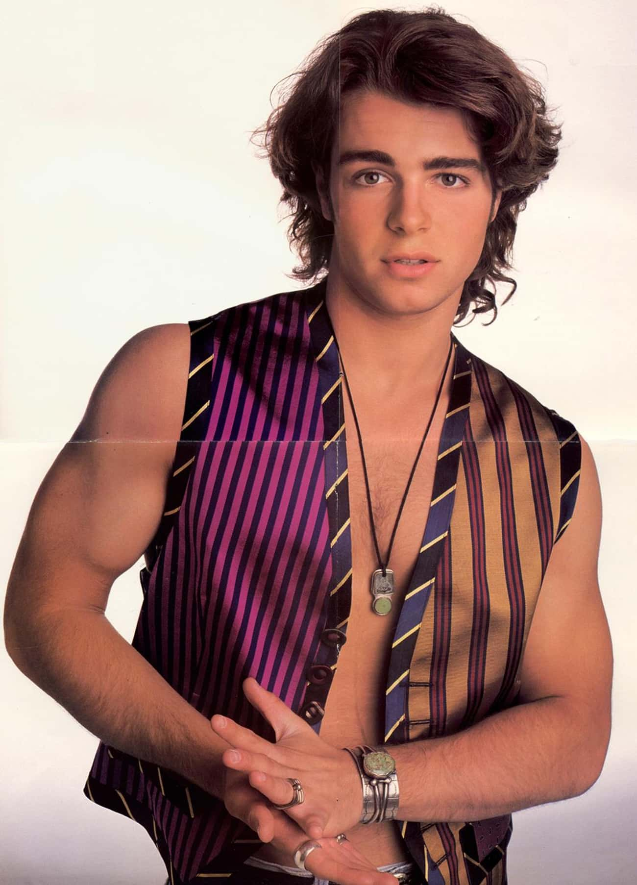 Joey Lawrence in Satin Alladin is listed (or ranked) 3 on the list Hot Joey Lawrence Photos