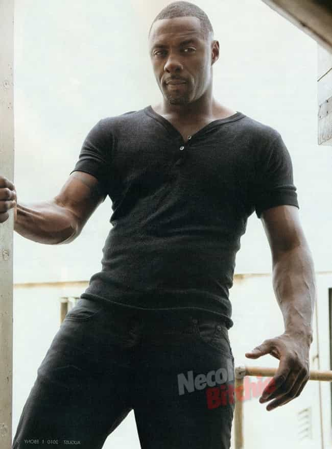 Idris Elba in V-Neck Workwear ... is listed (or ranked) 3 on the list Hot Idris Elba Photos