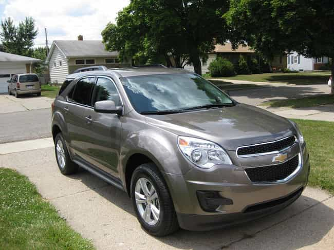 Chevy Equinox 2LT is listed (or ranked) 1 on the list Comfortable Cars for Large People
