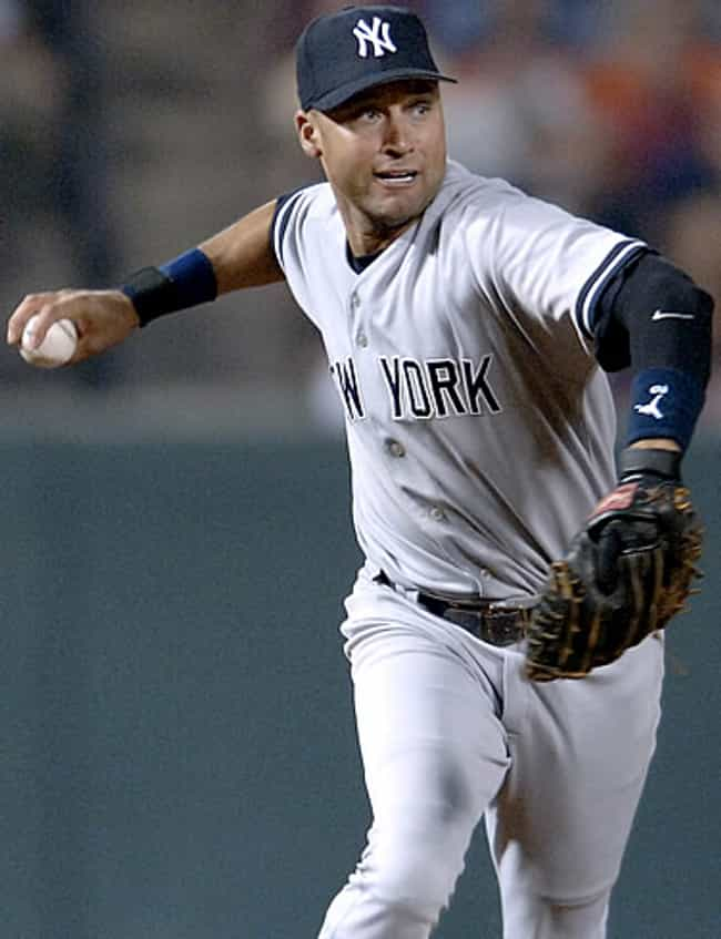 Derek Jeter in New York Baseba... is listed (or ranked) 2 on the list Hot Derek Jeter Photos