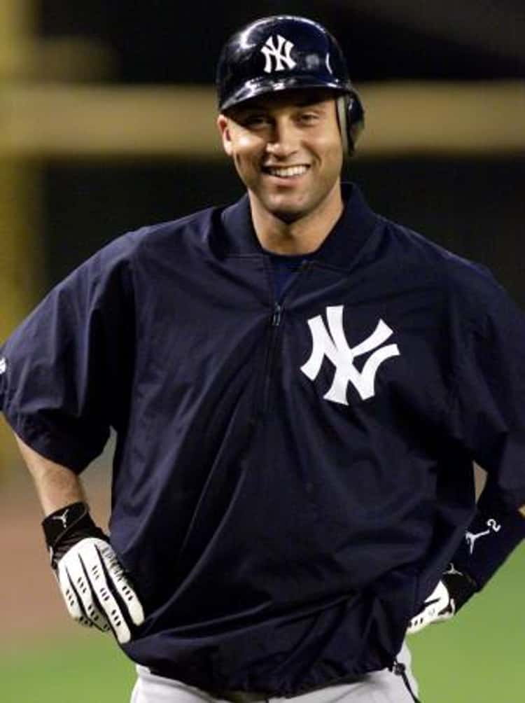 Derek Jeter in New York Waxed Jacket