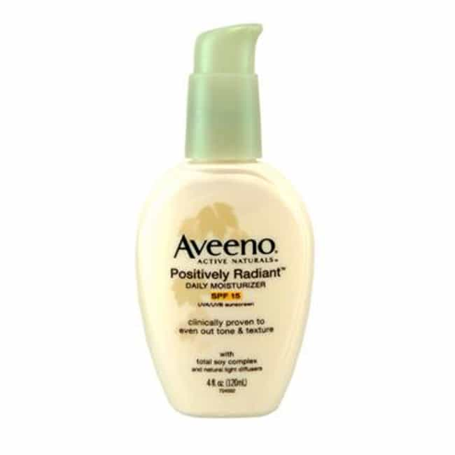 Aveeno Positively Radiant Dail... is listed (or ranked) 3 on the list The Best Anti-Aging Moisturizer