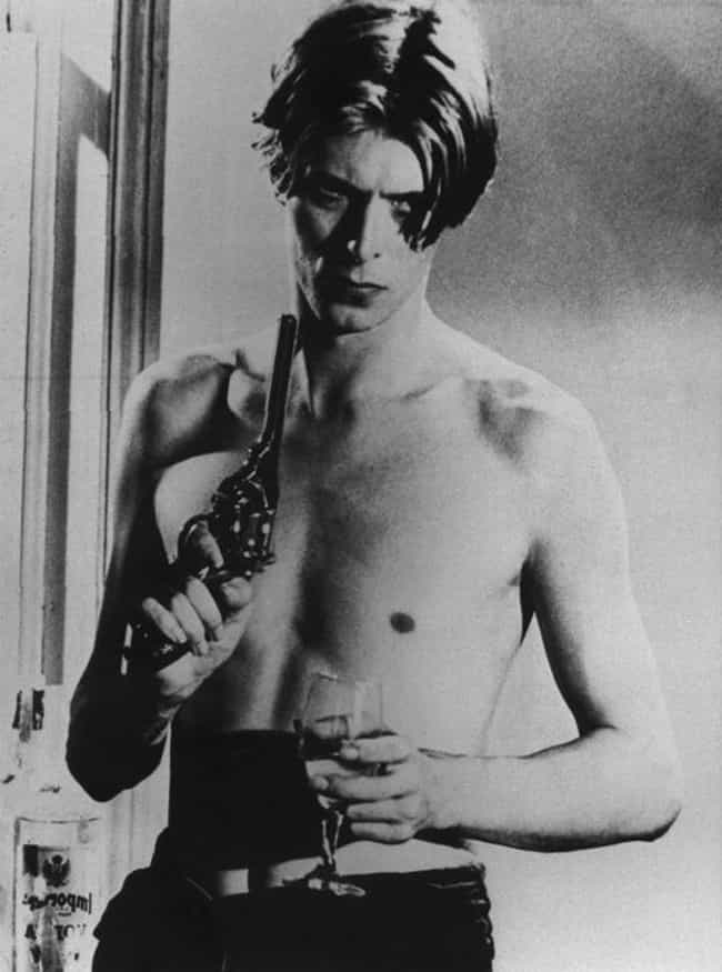 David Bowie in Shirtless with ... is listed (or ranked) 1 on the list Hot David Bowie Photos