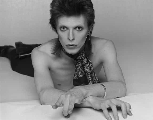 David Bowie in Shirtless with ... is listed (or ranked) 8 on the list Hot David Bowie Photos
