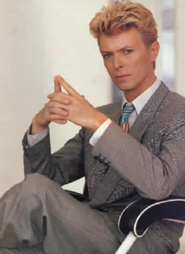 David Bowie in Grey Tweed Tuxe... is listed (or ranked) 2 on the list Hot David Bowie Photos