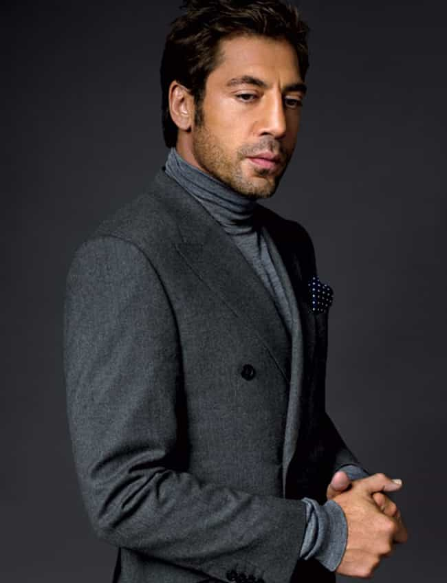 Javier Bardem in Breasted Coat... is listed (or ranked) 4 on the list Hot Javier Bardem Photos