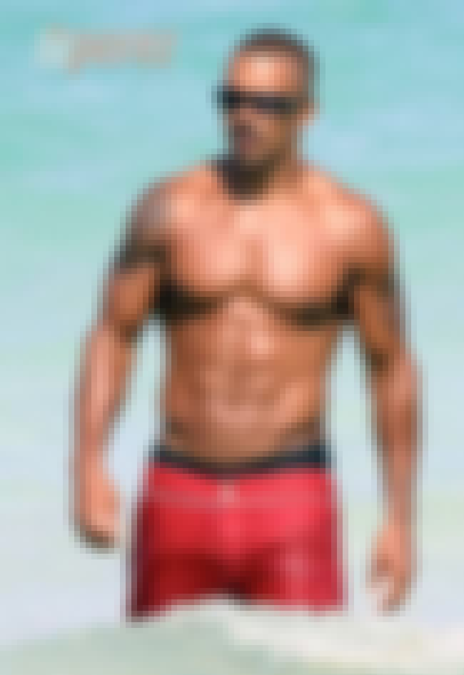 Shemar Moore in Red Short with... is listed (or ranked) 4 on the list Hot Shemar Moore Photos