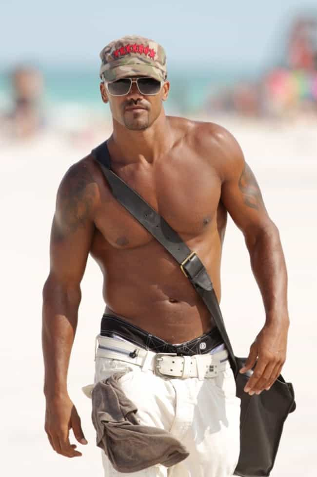 Shemar Moore in Shirtless with... is listed (or ranked) 4 on the list Hot Shemar Moore Photos