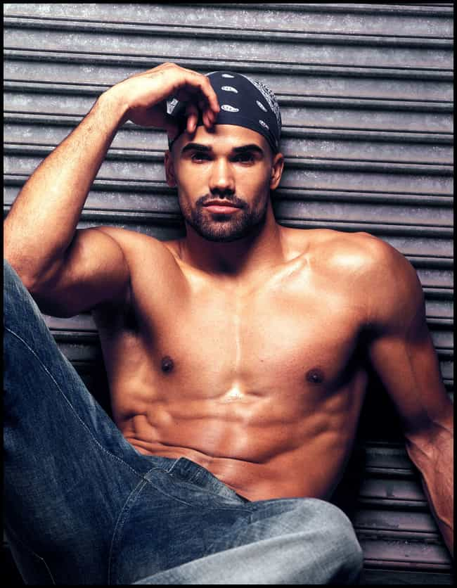 Shemar Moore in Shirtless with... is listed (or ranked) 6 on the list Hot Shemar Moore Photos