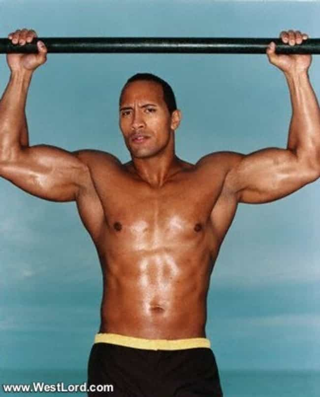 Dwayne Johnson in Shirtl... is listed (or ranked) 4 on the list Hot Dwayne Johnson Photos