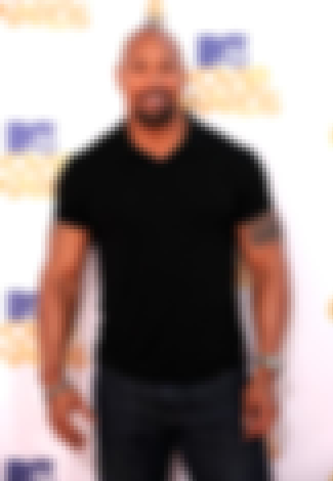 Dwayne Johnson in V-Neck T-Shi... is listed (or ranked) 3 on the list Hot Dwayne Johnson Photos
