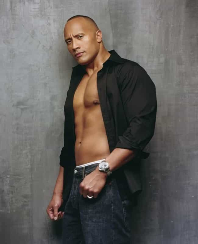 Dwayne Johnson in Black ... is listed (or ranked) 2 on the list Hot Dwayne Johnson Photos