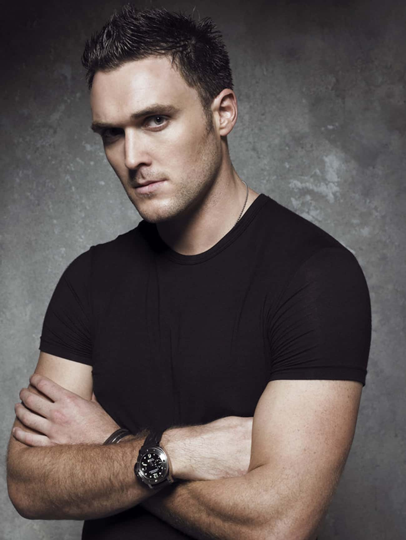 Owain Yeoman in Crew Neck T-Sh is listed (or ranked) 2 on the list Hot Owain Yeoman Photos