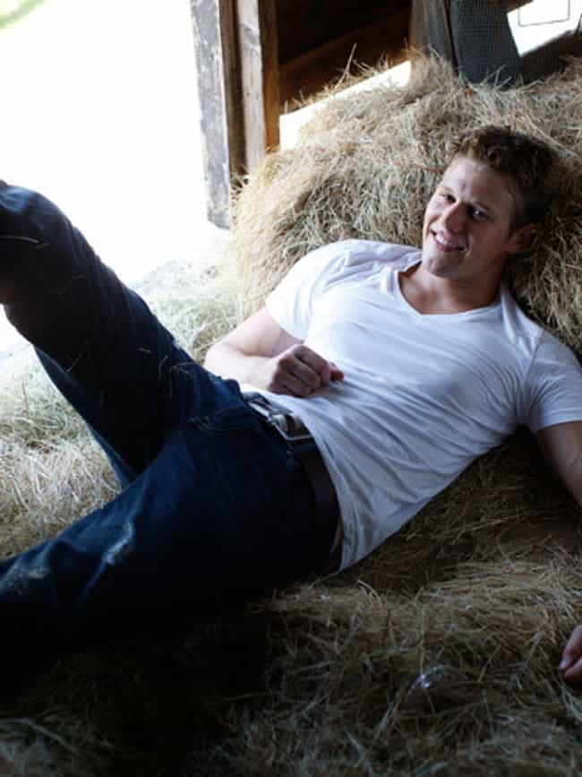 Zach Roerig in Cotton T-Shirt ... is listed (or ranked) 2 on the list Hot Zach Roerig Photos